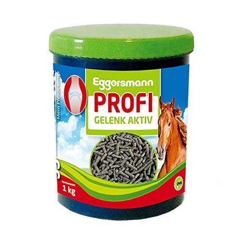 Eggersmann Profi Gelenk Aktiv – Ergänzungsfuttermittel für Pferde und Ponies – Stärkt Sehnen- und Gelenkstrukturen – 1 kg Dose