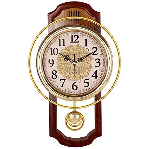 Nclon Europeo Reloj de Pared,Silencioso sin Ruidos Creativo Sala de Estar...