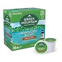 Green Mountain Coffee Nantucket Blend Medium Roast Coffee - Keurig Kカップ Pods - 18個入り [並行輸入品]