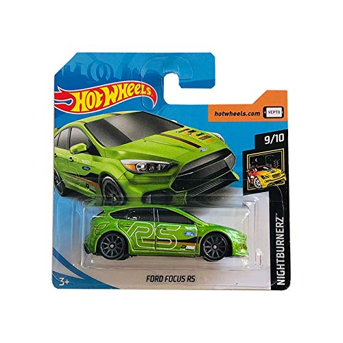Mattel Cars Hot Wheels Ford Focus RS Nightburnerz 139/250 2019 Short Card
