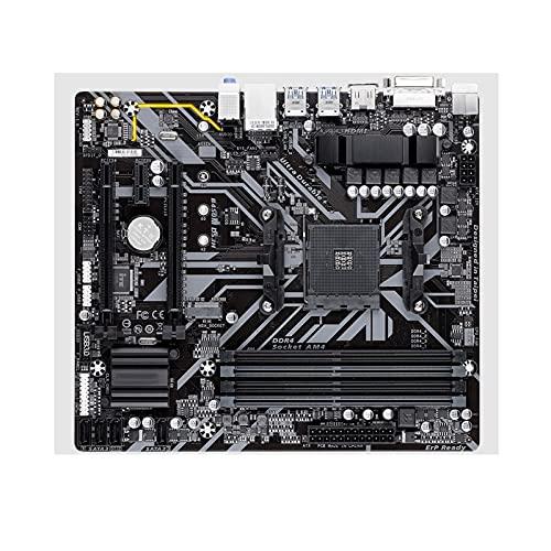 Newwiee Fit for Gigabyte GA-B450M DS3H AMD AM4 Ryzen 3/5/7/9 1Th.2Th.3Th.Athlon USB3.1 HDMI M.2 B450 Micro-ATX Desktop PC Placa Base para Juegos
