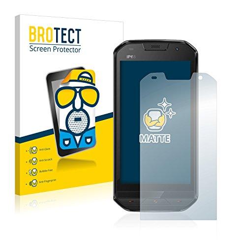 BROTECT 2X Entspiegelungs-Schutzfolie kompatibel mit Doogee S30 Bildschirmschutz-Folie Matt, Anti-Reflex, Anti-Fingerprint
