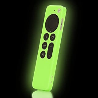 Glow Green Remote Case Cover Replacement for New Apple 4k...