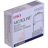Oki Microline 100 Series/320/320t/321/321t Black Fabric Ribbon 3m Characters