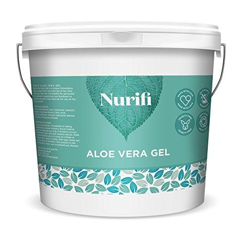 Nurifi Gel d'Aloe Vera - 1 KG - Pur à 99%
