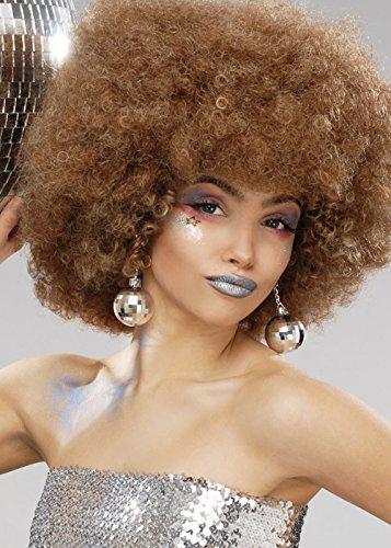 Magic Box Mujer 70s Brown Beyonce Peluca Afro