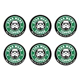 Starwars May The Froth Be With You Refrigerator Magnets Beer Bottle Opener Coke Bottle Wine Soda Openers Kitchen Magnet for Office Decoration Magnetic Sticker 6Pcs Bottle openers/fridge magnets
