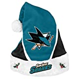 San Jose Sharks 2014 Colorblock Santa Hat