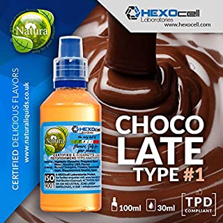 E LIQUID PARA VAPEAR - 30ml Chocolate Type #1 (Chocolate con leche belga)