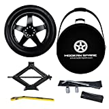 Complete Compact Spare Tire Kit w/Carrying Case -Fits 2017-2021 Tesla Model 3 - Modern Spare
