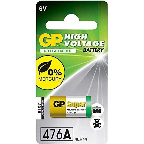 GP Battery - 476A (4LR44 / PX28A / V28PX / K28A / V34PX) 6 Volt Alkaline Battery - 1er Pack