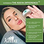 Acne treatment products Keeva Organics 0.5 Ounce Original Acne Treatment Cream with Tea Tree Oil, Extra Strong,