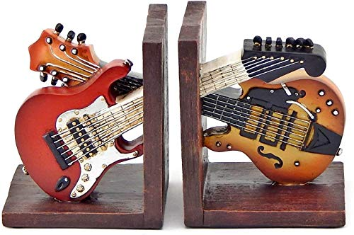 Bellaa  Bookends Vintage Guitar Music Books