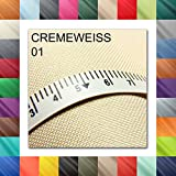1buy3 Meterweise Oxford 600D Farbe 01 | CREMEWEISS |