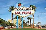 Cassisy 3x2m Vinilo Las Vegas Telon de Fondo BIENVENIDOS A Las Vegas Fabulosas Signo de Nevada Paisaje Urbano Fondos para Fotografia Party Photo Studio Props Photo Booth