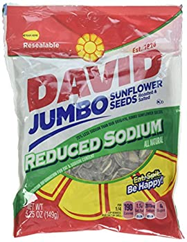 David s Sunflower Seeds Reduced Salt 5.25 oz Packaging may vary