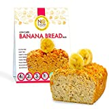 No Sugar Aloud Low Carb Banana Bread Mix (No sugar added, gluten free, Vegan, Paleo, Keto )