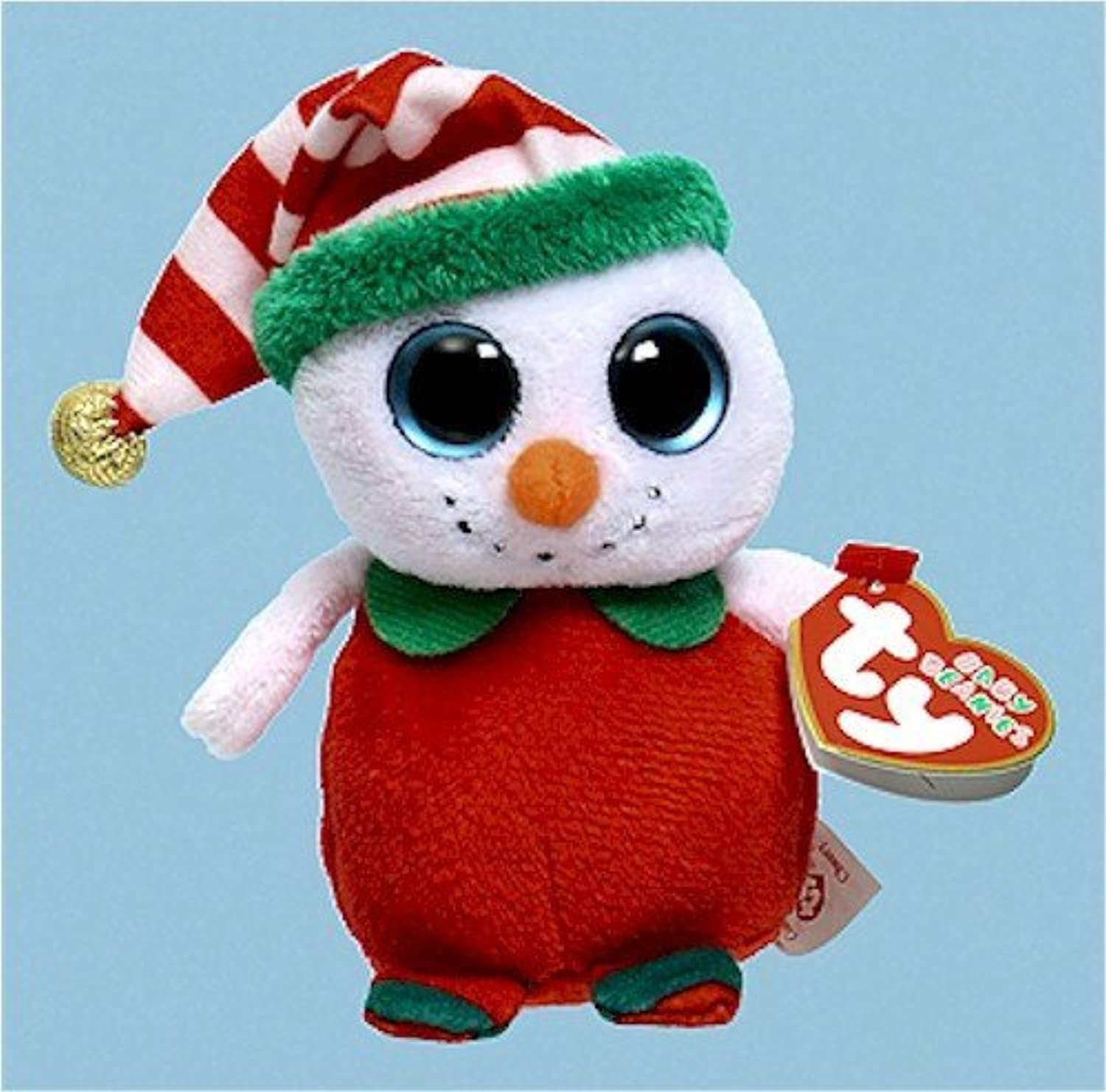 sin mínimo Ty Baby Beanies Cheery - Snowman by by by Ty  tienda de venta