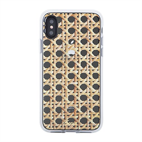 Sonix Rattan Case for iPhone X/XS [Drop Test Certified] Clear Coat Series Case for Apple iPhone X, iPhone Xs