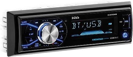 $31 Get Boss Audio Systems 632UAB Car Stereo - Single Din, Bluetooth, - NO CD DVD MP3 USB WMA AM FM Radio, Detachable Front Panel
