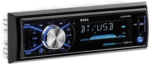 $31 » BOSS Audio Systems 632UAB Car Stereo - Single Din, Bluetooth, - no CD DVD MP3 USB WMA AM FM Radio, Detachable Front Panel