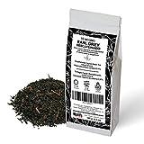 Té Negro Earl Grey descafeinado. Sabor clásico a bergamota. Té de Ceylán.Contenido máximo de cafeína: 0,4%. 100 gramos.