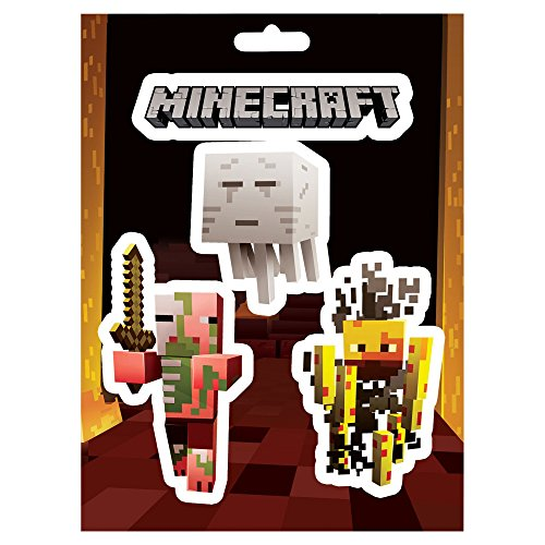 JINX Minecraft Mobs Nether Lot d'autocollants