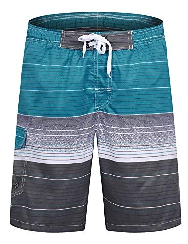 APTRO(アプトロ) メンズ サーフパンツ ショーツ 水着 海水パンツ 海パン ゴムウエスト サーフトランクス #1506ブルー 2XL