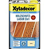 Xyladecor Holzschutzlasur Farblos 4 l Außen Imprägnierung Holzschutzmittel