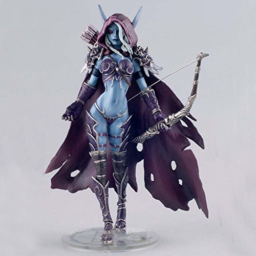 World of Warcraft Oscuridad guardabosques Lady Sylvanas Windrunner 7 'Resina figura de acci¨n de Colecci¨n Modelo Wow