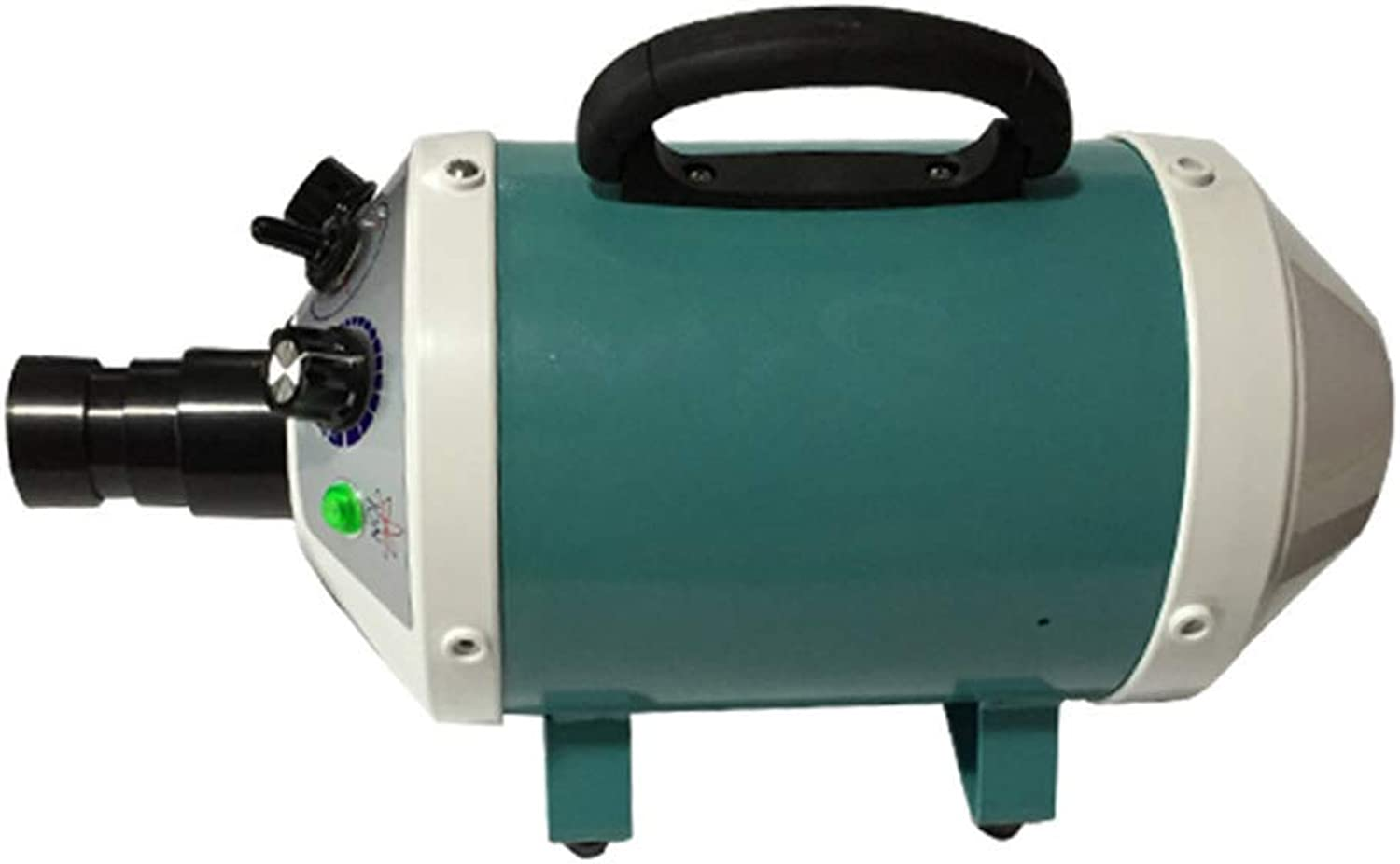 IF.HLMF Pet Dryer 2000W Blow Mute Negative Ion For Hair High Power Water Blower (color   GREEN)