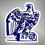 Aufkleber - Sticker Aquila Lazio ultras serie A champions league sticker