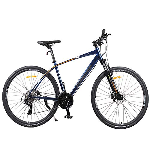 NENGGE Vrouwen Mountainbike, 26 Inch 27-Speed Mountain Trail Bike, Dual Disc Brake Aluminium Frame Hardtail Mountainbike, Verstelbare Stoel