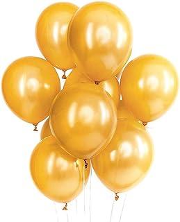 IyGnaw 100pcs/lot 12Inch Thicken 2.8g Gold Balloons Birthday Wedding Party Decoration