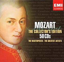 Les Chefs d'Oeuvres de Mozart - Coffret 50 CD