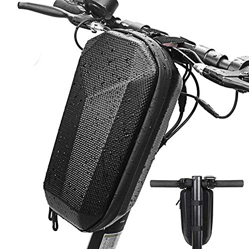 ChuerTech Bolsa de Patinete Electrico Adultos, 4L Bolsa Almacenamiento Impermeable para Scooter Electrico para Xiaomi Mijia M365 Segway Ninebot E ES1/ES2/ES3/ES4, Bicicleta Plegable/Electrica