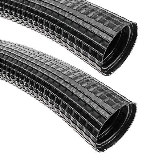 BeMatik - Tubo Corrugado Exterior M-32 25 m Negro