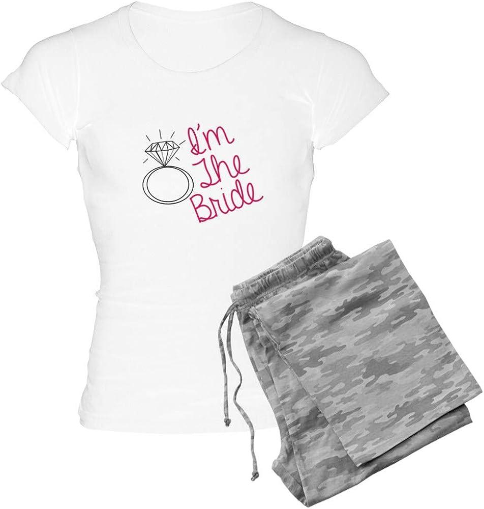 CafePress Im The 訳あり 国産品 Bride PJs Women's Pajamas