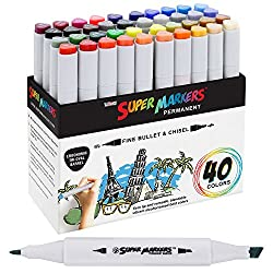 Best Paint Markers 2019 For Wood, Rocks, Canvas, Glass, Mugs
