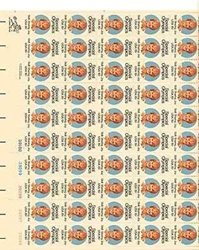 Special Olympics Sheet of 50 x 15 Cent US Postage Stamps nouveau Scot 1788 by USPS