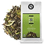 'Jasmin Imperial' Mezcla de Té Verde Orgánico sabor Jazmín, Bolsa A Granel 100 Gramos - alveus Premium Teas