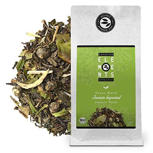 """Jasmin Imperial"" Mezcla de Té Verde Orgánico sabor Jazmín, Bolsa A Granel 100 Gramos - alveus Premium Teas"