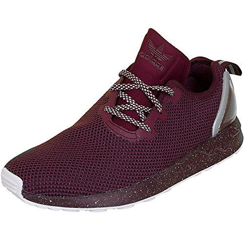 Adidas - Chaussure Zx Flux Adv Asym Aq6658 Bordeau - Couleur Violet - Taille 39 1/3