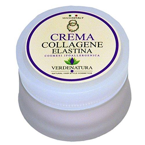 Crema viso collagene elastina