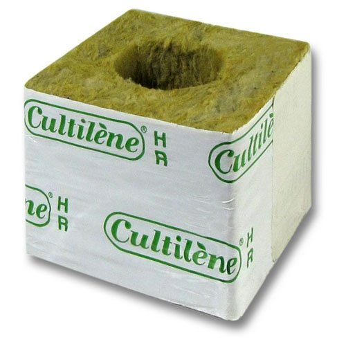 Blocs / Cubes Laine de Roche Cultilène HR 35/35 (75x75x65mm)