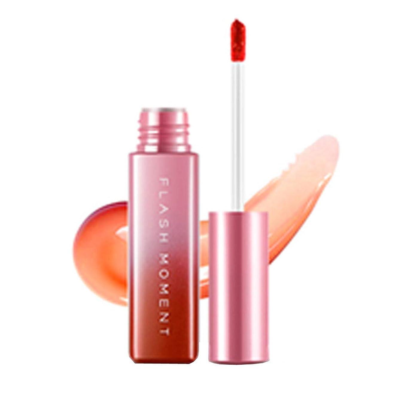 専制バング噴水口紅 リップグレーズ ミラー 3D リップクリーム セクシー 液体 リップスティック リキッド 唇 光沢 長続き リップバーム 24時間防水 唇に塗っっていつもよりセクシー魅力を与えるルージュhuajuan (A)