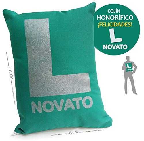 inedit Novato Conductor Novel Cojín Broma carnet de Conducir 2020