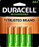 Duracell - Rechargeable AA Batteries - long lasting, all-purpose Double A battery for household and business -...