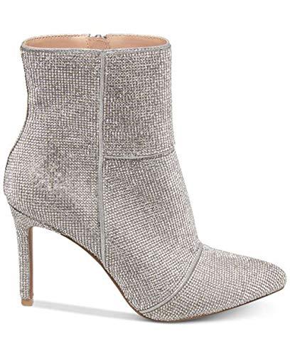 Steve Madden Frauen Spitzenschuhe Fashion Stiefel Silber Groesse 7 US /38 EU