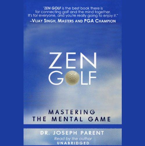 Zen Golf audiobook cover art